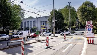 Die Täter flüchteten Richtung Zwinglihaus. (Archiv)