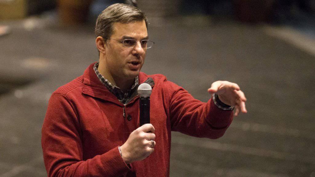 Der Republikaner Justin Amash an einer Veranstaltung in seinem Bundesstaat Michigan (Archiv)