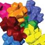 """Eine 3D-Rekonstruktion der Zelle einer Walnussschale. Die ineinander verzahnten """"Vielgelappten Sklerenchymzellen"""" verleihen der Schale einer Walnuss ihre Härte. Der Mechanismus könnte für die Entwicklung extrem harter Materialien nutzbar gemacht werden. (Handout)"""