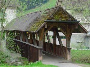 Grabenbrücke bei Hasle