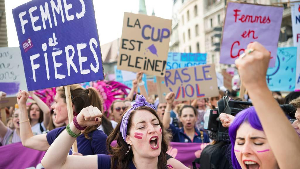 Frauenstreik findet trotz Corona statt