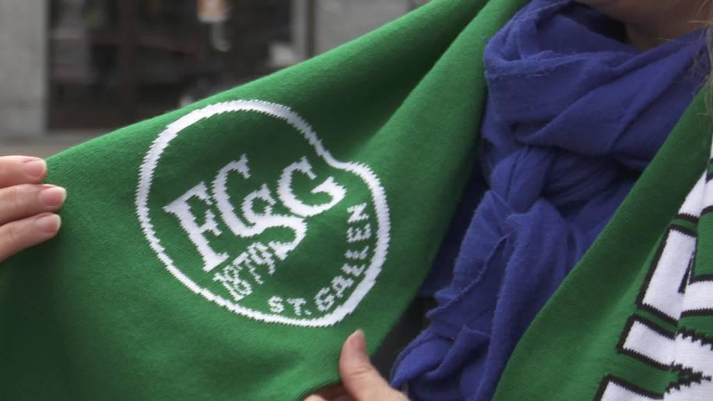 Daumen drücken: Gute Wünsche für den FCSG im Cupfinal
