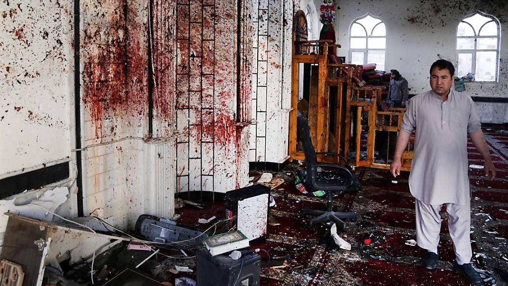 Bei einer Explosion in einer Moschee in Ostafghanistan sind Dutzende Menschen getötet oder verletzt worden. (Archivbild)