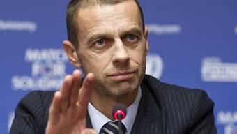 Aleksander Ceferin ist seit September 2016 der Präsident der UEFA