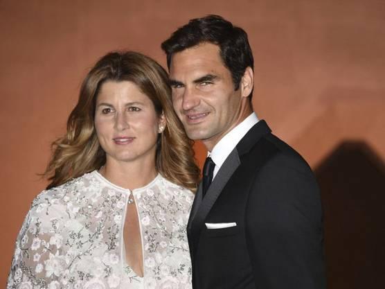 Für seine Ehefrau Mirka (l.) und die vier gemeinsamen Kinder würde Tennisstar Roger Federer seine Karriere ohne zu Zögern beenden. (Archivbild)