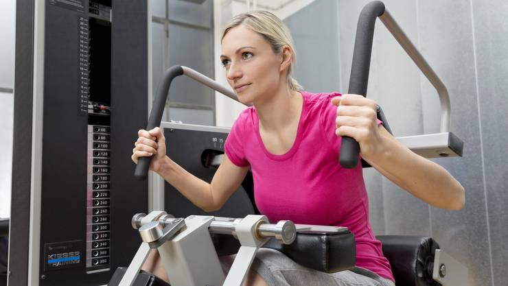 Die durchschnittliche Fitnessbesucherin ist in der Schweiz 45.1 Jahre alt.