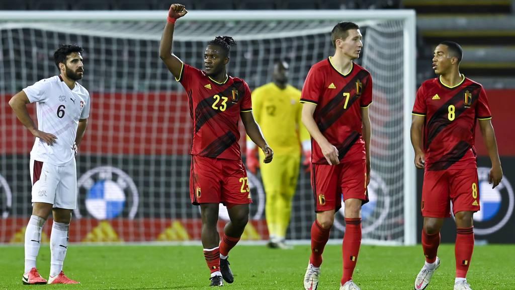 2:1 für Belgien – Schweizer warten noch immer auf den Sieg