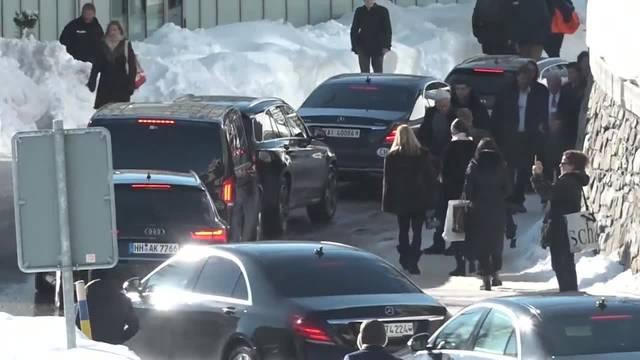 Dauerstau in Davos wegen WEF