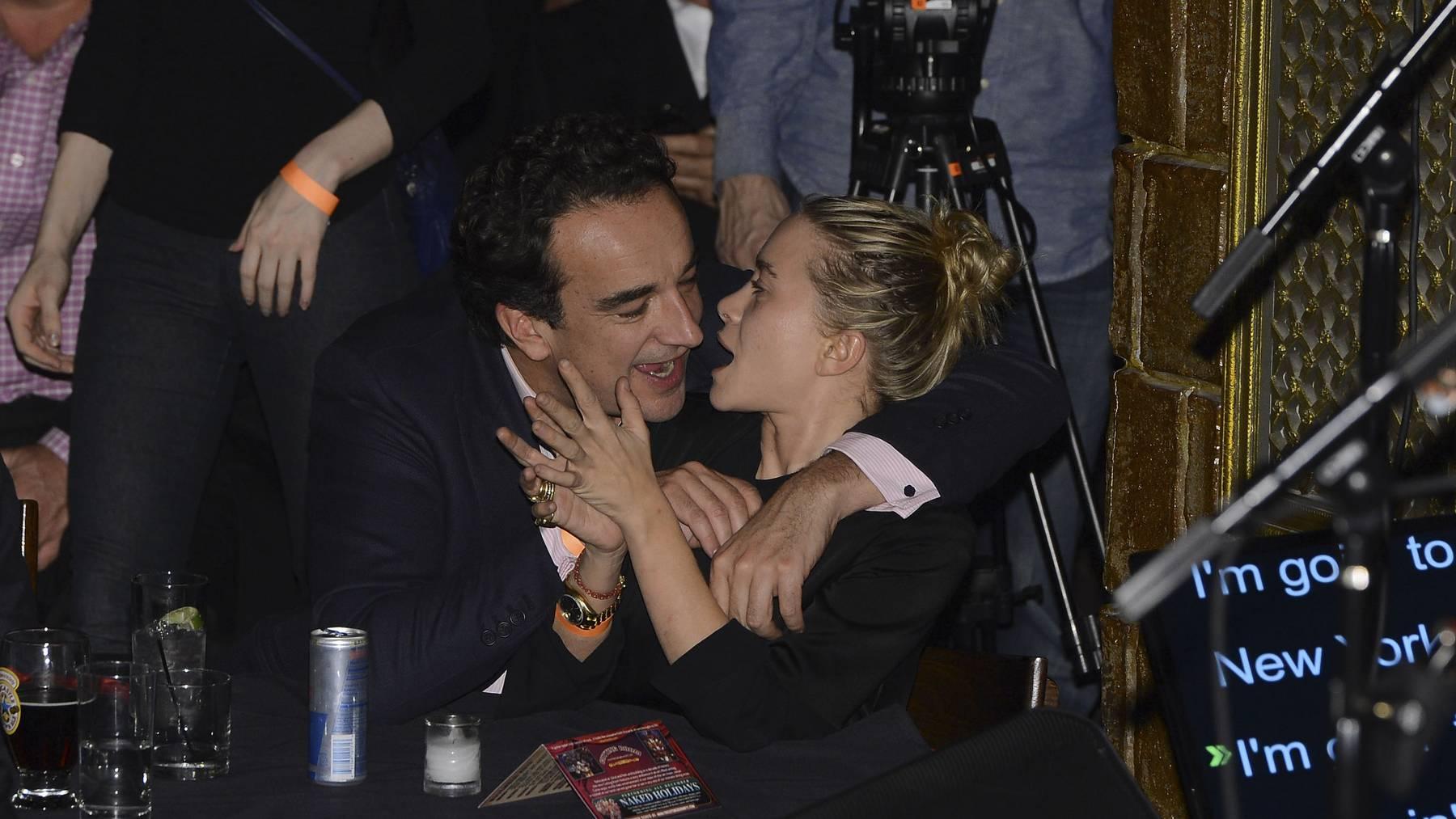 Ein Bild aus glücklicheren Tagen: Olivier Sarkozy und Mary-Kate Olsen.