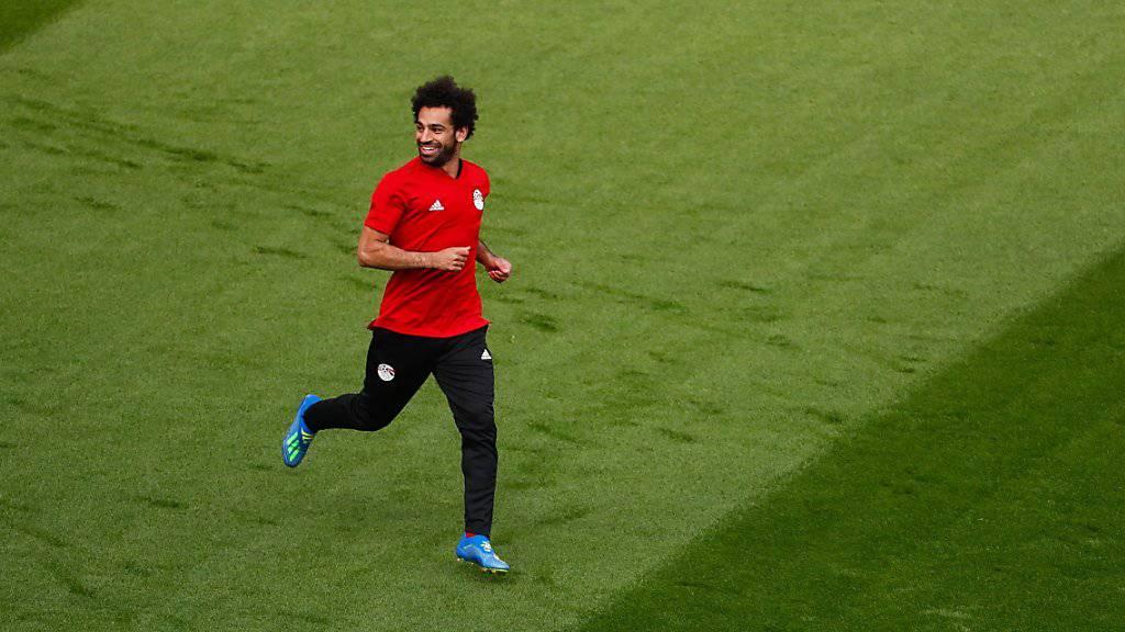 Spielt er? Oder spielt er nicht? Mohamed Salah ist das grosse Thema vor dem WM-Auftakt Ägyptens