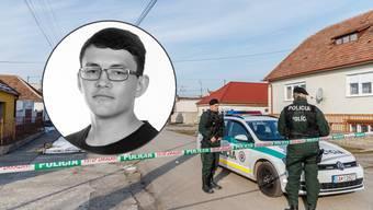 Der Journalist und seine Freundin wurden erschossen aufgefunden.