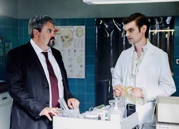 Manchmal gab es aber auch dicke Luft zwischen Luc und Fabio.