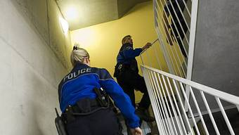 Grosseinsatz der Polizei (Symbolbild)
