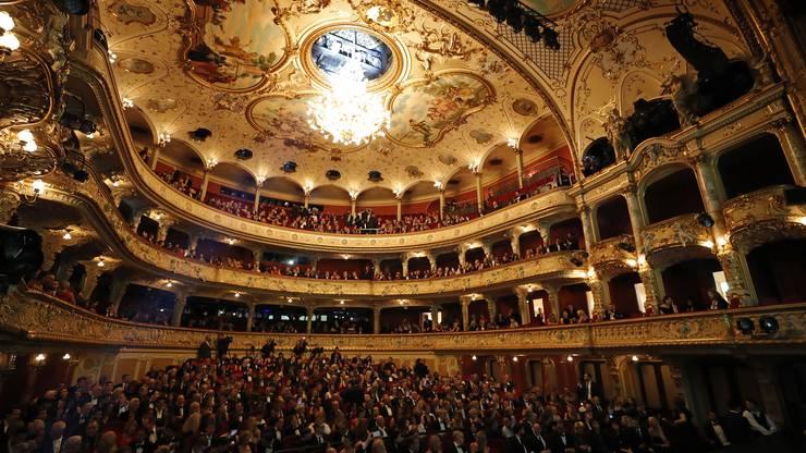 Im Opernhaus findet am letzten Abend jeweils die Award-Night statt.