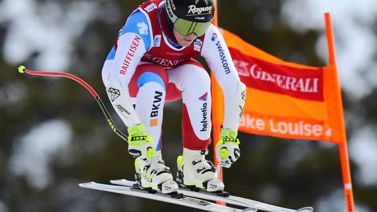 Lara Gut-Behrami steigert sich im zweiten Training