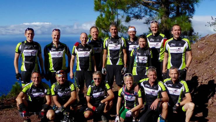 Die Mountainbiker des ESV Olten feieren ihr 15-jähriges Bestehen auf La Palma