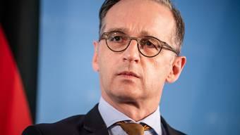 Der deutsche Aussenminister Heiko Maas lobt zwar die Zusammenarbeit mit den USA bei der Verteidigung - sagt aber gleichzeitig, dass das Verhältnis zu den Vereinigten Staaten kompliziert sei.
