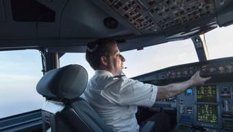 Der Co-Pilot setzte den Endanflug fort und landete das Flugzeug sicher auf der Piste. (Symbolbild)