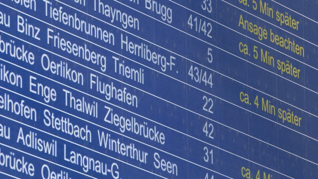 Auf dem SBB-Schienennetz haben Verspätungen in letzter Zeit zugenommen. Das Bahnunternehmen reagiert nun mit Sofortmassnahmen. (Themenbild)