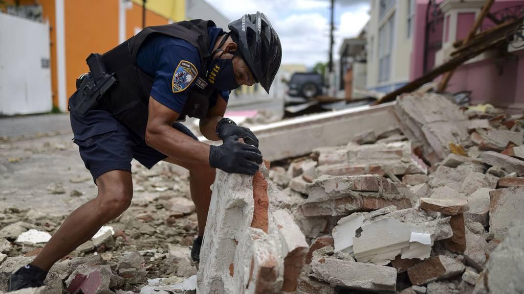 Schweres Erdbeben erschüttert Puerto Rico