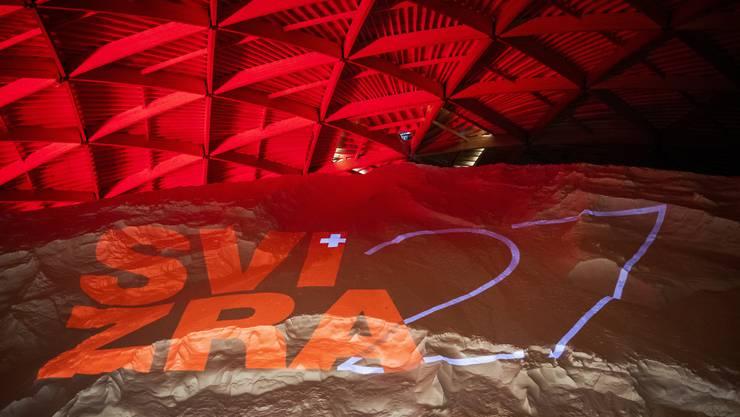 Das Logo der Landesausstellung Svizra 27.