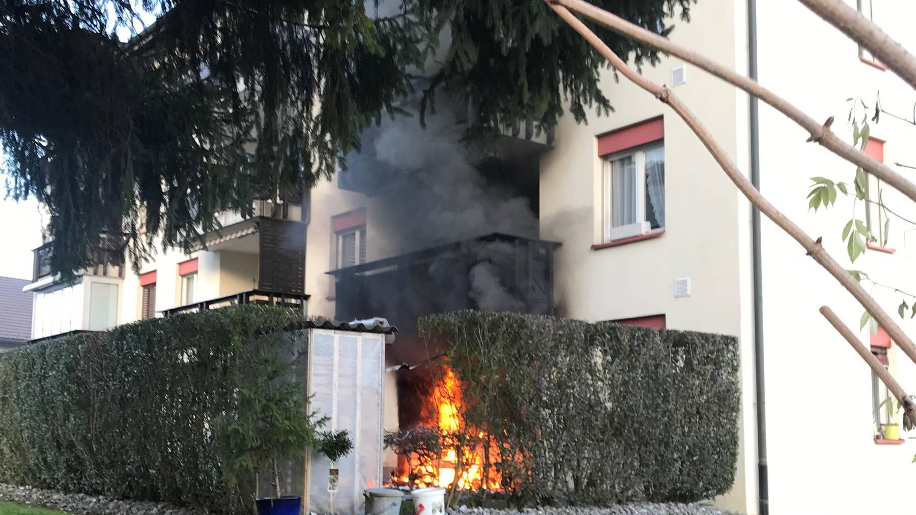 Brand in Münchwilen