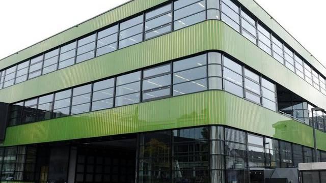 Ein Produktionsgebäude von Sonova (Archiv)