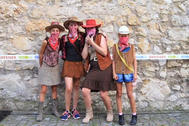 Sie jagten in der Kategorie Plausch am schnellsten durch die Prärie, bzw. durch Städtli Wiedlisbach.
