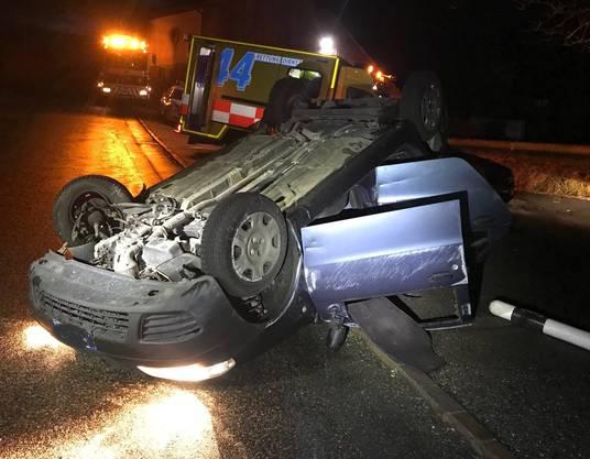 Nach dem Unfall aberkannte die Polizei dem ausländischen Lenker den Führerausweis.