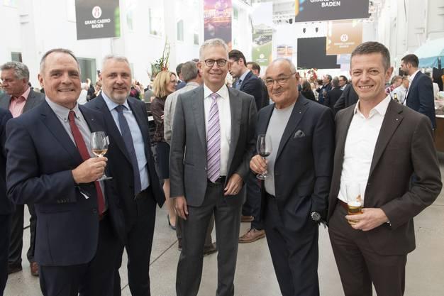 Marc Périllard, Andreas Voser, Jürg Altorfer, Urs Wiezel und Thomas Lütolf.