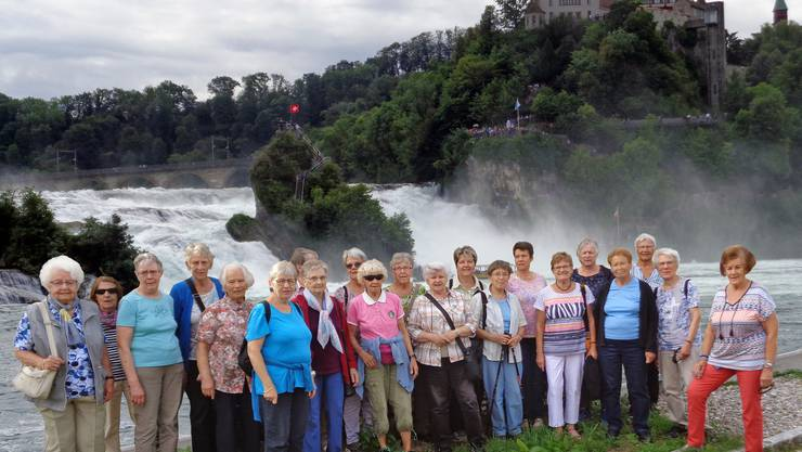 am imposanten Rheinfall am imposanten Rheinfall