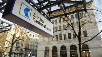 ZKB-Filiale an der Bahnhofsstrasse.