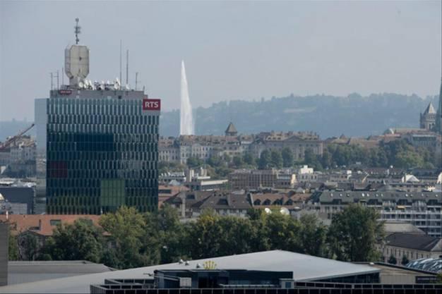 Belästigungen waren an der Tagesordnung: Hochhaus des Westschweizer Fernsehens in Genf.