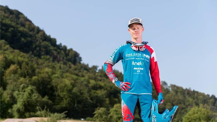 Noel Niederberger stört es, dass die Downhill-Mountainbiker weniger als Sportler anerkannt werden als die Kollegen im Cross Country.Claudio Thoma