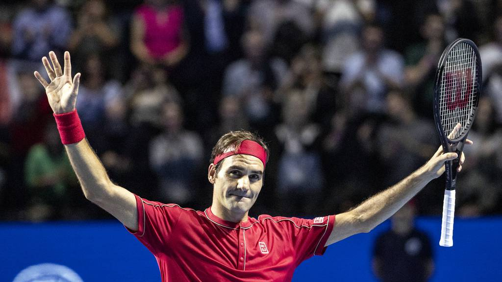 Federer holt seinen zehnten Titel