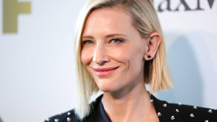 """Zu den Initiantinnen der Initiative """"Time's Up"""" gehört die Schauspielerin Cate Blanchett. (Archiv)"""