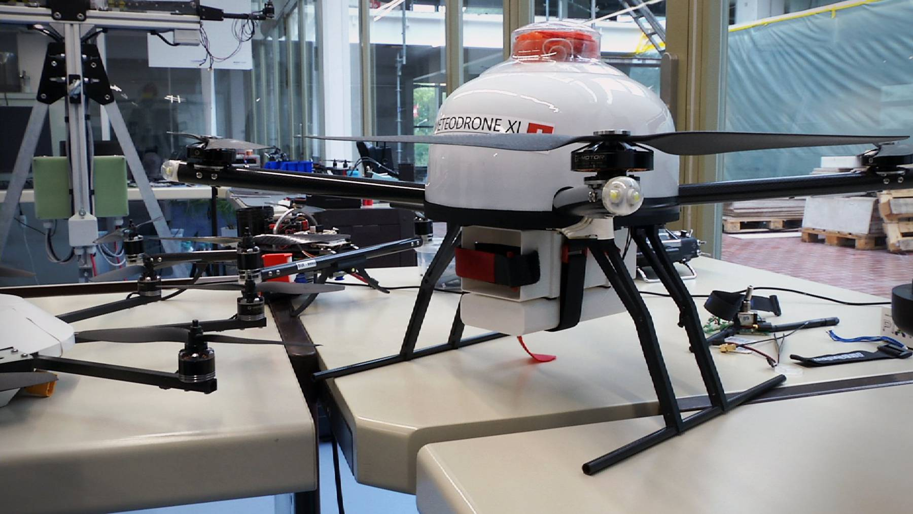 Eine Drohne des St.Galler Start-ups Meteomatics.