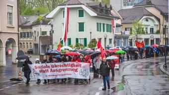 1.Mai Umzug in Solothurn