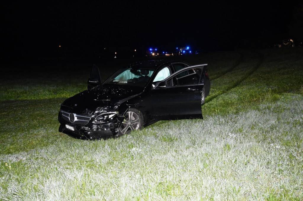Tödlicher Unfall in Schwarzenbach (© Kapo SG)