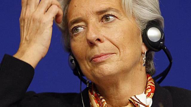 Frankreichs Finanzministerin Christine Lagarde (Archiv)