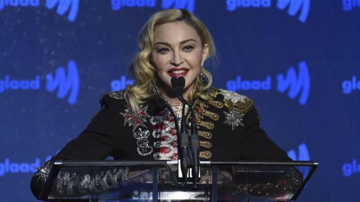 Pop-Ikone Madonna.