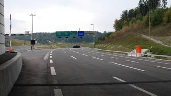 Am 4. Mai wird die Strecke vom Anschluss Birmensdorf bis zum Dreieck Zürich Süd für den Verkehr freigegeben. Grafik: Baudirektion Kanton Zürich