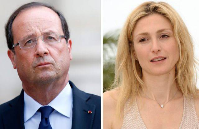 François Hollande (links) und Julie Gayet (Archiv)