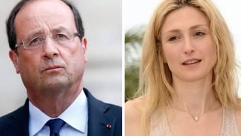 François Hollande (links) und Julie Gayet (Archiv)