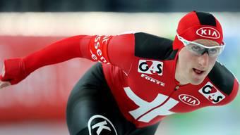 Livio Wenger wird beim Finale des Nachwuchscups in Liestal das Warm-Up leiten.
