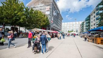 Der Marktplatz und die Philosophie dahinter - ein Thema der 24. Grenchner Wohntage .
