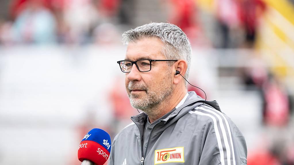 Auch Urs Fischer von Union Berlin kann mit den ersten Spielen der Saison 2021/22 zufrieden sein.