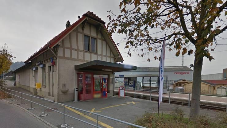 Das Unglück geschah am Bahnhof Gontenschwil. (Archiv)