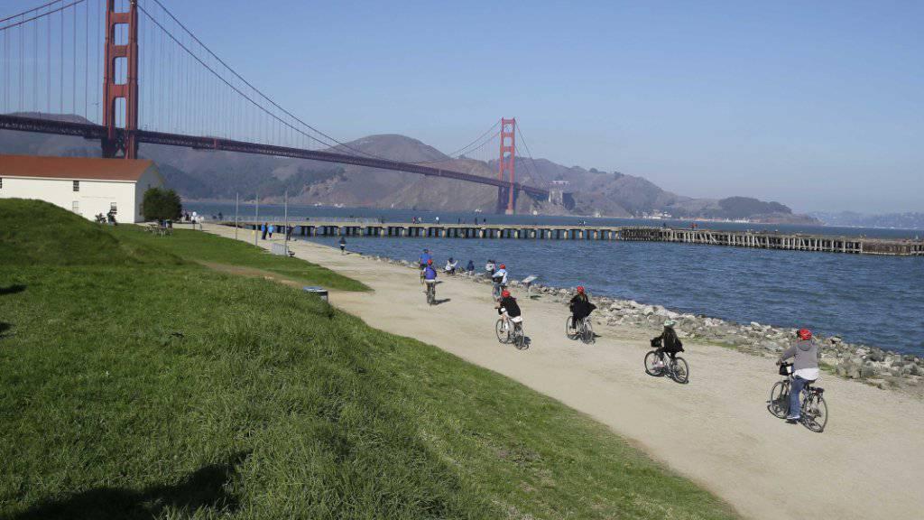 Hitzerekord mit 41,1 Grad in San Francisco: Noch nie seit Messbeginn 1874 war es in der kalifornischen Stadt so heiss. (Archivbild)