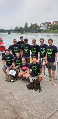 STV Erlinsbach am Schlauchbootrennen 2019 in Schönenwerd
